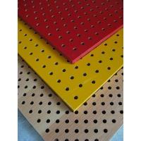 Wooden Perforated Acoustic panel Manufactures