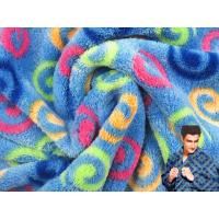 Printed Coral Fleece, Warp Knitted Fleece, Blanket Fabric/High Quality fabric material 100% polyester printed coral flee Manufactures