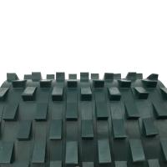 PVC blackish green saw tooth rock conveyor belt Manufactures