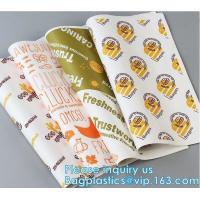 New Waterproof Craft Color Print Gift Wrap A4 Fast Food Sandwich Products Wrapping Kraft Paper, Manufactures