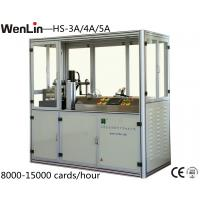 4.5KW id card punching machine 12000 - 18000 cards / hour 3 X 7 Layout
