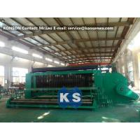 4.0mm Wire Hexagonal Mesh Machine Double Rack Drive For Making Gabion Baskets Manufactures