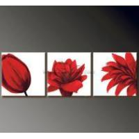 Modern Floral Art Oil Painting On Canvas Manufactures