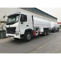 371 Horse Power Fuel Tank Truck 10 Wheels Steel Structure Oil Delivery Truck  Manufactures