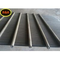 Durable Welded Wedge Wire Screen Filter Rating 99% For Water Treatment Manufactures