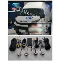 360Car Reverse Camera bird view  System seamless with 4 channel HD DVR and  collision video Manufactures