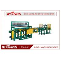 All Steel Automatic Brick Cutting Machine , Soild Fired Red Brick Cutter QP-100 Series Manufactures