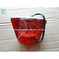 Red ABS REAR LIGHT ASSY Piaggio Motorcycle Parts 12 Volt Custom Manufactures
