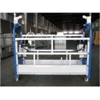 Aluminium Alloy Powered Suspended Platform Cradle Swing Stage Manufactures