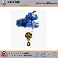 5ton Wire Rope Double Electric Hoist With 110V With Double Trolley Manufactures