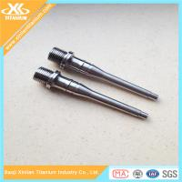 China Ti6al4v Titanium Pedal Shaft For Mountain Bike Manufactures