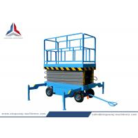 12m Working Height Mobile Hydraulic Scissor Lift Table with 500kg Load Capacity