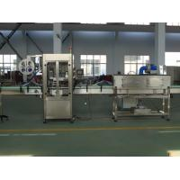 Stable BOPP / OPP Label Sticker Labeling Machine For Beverage Filling Line Manufactures