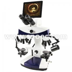 China 3.36x - 336x Forensic Comparison Microscope Digital Camera Microscopes A18.1848-LCD on sale