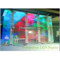 Quality SMD 3535 1R1G1B P12mm Transparent LED Display Big Led Screens for sale
