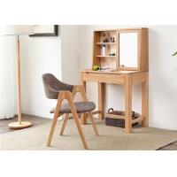 Moder Makeup Small Solid Wood Dressing Table And Chairs Simple Style For Family Manufactures
