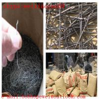 wave shape concrete reinforcement steel fiber