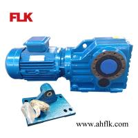 China Helical Bevel Gear Speed Reduction Box with Motor on sale