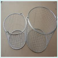stainless steel hospital disinfection baskets sterilization baskets/medical hospital perforated wire mesh baskets Manufactures