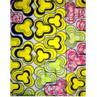 China 100% cotton imitation wax printed fabric for AFRICAN market 40*40/96*96 on sale