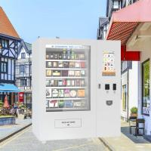 China Professional Multifunctional Fresh Milk Coffee Vending Machine Fully Automatic on sale