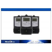 Single Phase Watt Hour Meter , Single Phase Electric Meter 50Hz / 60Hz Manufactures