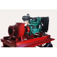 China Diesel powered water pumps by CUMMINS engine for flood control on sale