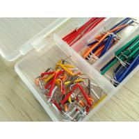 Solid Solderless Breadboard Kit  14 different lengths 140Pcs Jumper Cable Kits With Box Manufactures