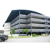 H Steel Frame Car Parking Shade Structure , Residential Covered Parking Structures Manufactures