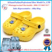 China baby Eva Garden Shoes Mould with flower, Eva Garden Shoe once Injection Mould, on sale