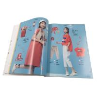 China Fashion  A4  Magazine Printing Services / Perfect Bound Brochure Printing on sale