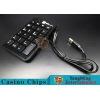 Portable Slim Mini Wired Usb Numeric Keyboard Especially For Baccarat System Manufactures