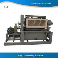 China Small manufacturing machines air dryer paper egg tray machine line on sale