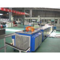 WPC Door Panel Extrusion Machines Wood Plastic Extrusion Line For Passages Manufactures