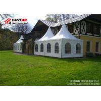 Glass Door Festival Party Tent With Self Cleaning Ability Diameter 8M Manufactures