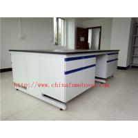 Scratch / Corrrosion / Acid / Alkali -Resistant Chemistry Lab Furniture With Sink And Faucet , Science Lab Workstations Manufactures