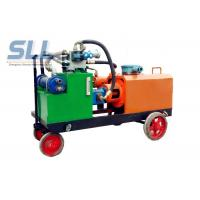 China Variable Output Hydraulic Grout Pump / High Pressure Grout Pump Easy Operate on sale