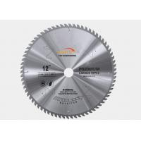 Fine Tooth Circular Saw Blade For Frame Cutting , Alloy Steel Metal Cutting Saw Manufactures