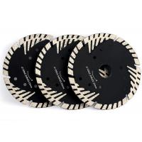 Triangle Protection Teeth Diamond Stone Saw Blades For Granite Sandstone Manufactures