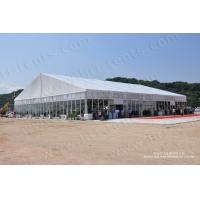China Luxury big tent with glass walls for events from Liri tent for export on sale