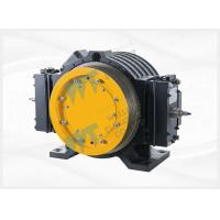 China Block Brake PM Elevator Traction Motor , Low Current Elevator Gearless Motor on sale