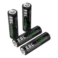 1100mAh AA Rechargeable Batteries, 1.2V NiCd Rechargeable Battery for sale