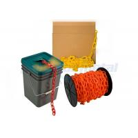 Custom Traffic Use Coloured PE Plastic Coated Chain Link For Airport / Station Manufactures