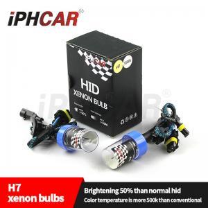 China IPHCAR Hid Xenon Bulb H1 H3 H4 H7 High Brightness Hid Bulb Light 4300k 5500k 6000k H7 Bulb on sale