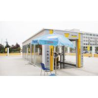 Profession Tunnel Car Washing Machine Energy Saving With Yellow Brush Manufactures