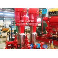 Multistage Booster Fire Jockey Pump 75GPM For Firefighting , NFPA20 GB6245 Listed Manufactures