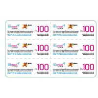 China Paper Telecom Phone Cards for Mobile Refill / Calling Card Services in Credit Card Size on sale
