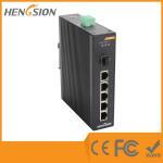 5 Megabit TX Port / 1 Gigabit SFP FX 5 Port Industrial Ethernet Network Switch / 5 Port Poe Switch Manufactures