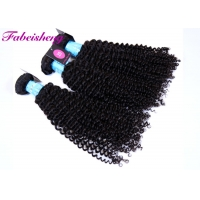 China No Tangling Bouncy Thick Curly Human Hair For Black Women on sale