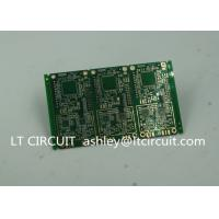 6 Layer Green Printed Circuit Board FR4 with V Groove White Silkscreen Manufactures